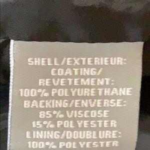 bagatelle Jackets & Coats - Bagatelle  burgundy biker faux leather zip jacket